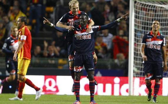 Ligue 2 : Valere Germain & Ibrahima Toure (AS Monaco)