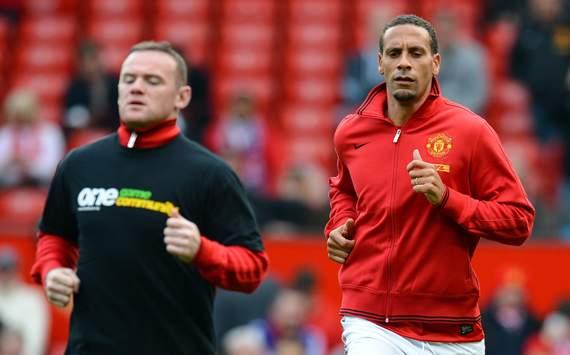 Rio Ferdinand,Wayne Rooney