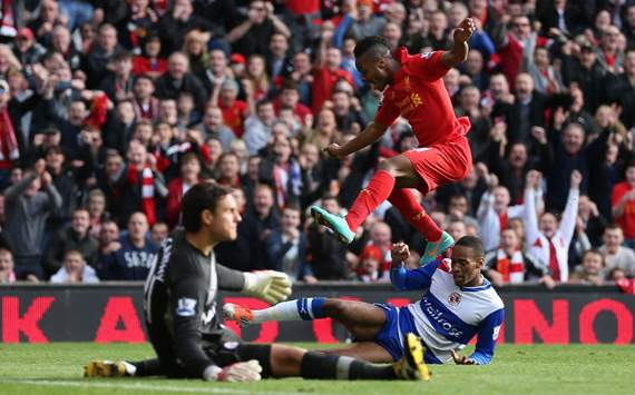 Sterling hands first Anfield win for Rodgers