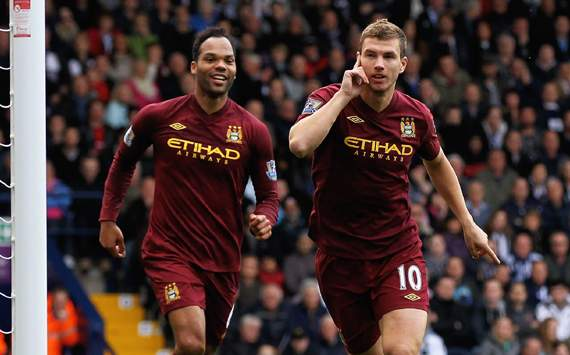 TEAM NEWS: Dzeko handed start for Manchester City against Ajax