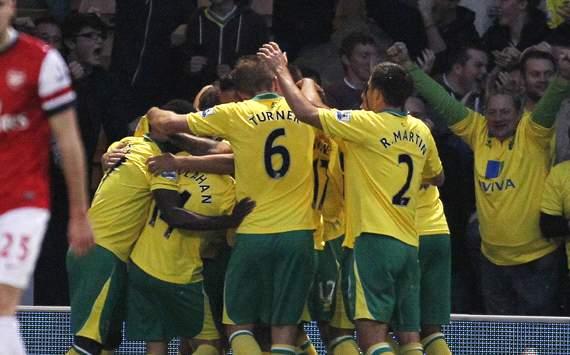 EPL - Norwich City v Arsenal, Grant Holt