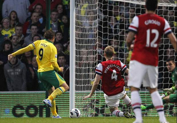 Norwich had a game plan to beat Arsenal, says Holt