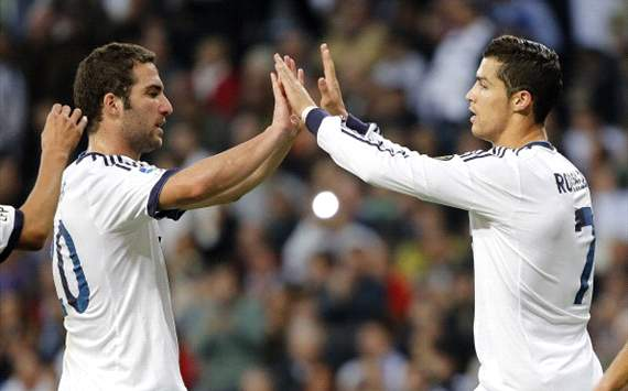 Gonzalo Higuaín - Cristiano Ronaldo