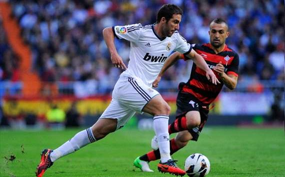 ESP, Real Madrid - Higuain out 1 mois