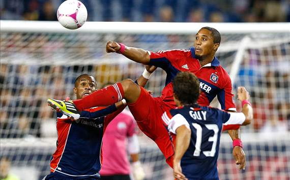 Sherjill MacDonald, Chicago Fire; Ryan Guy, New England Revolution; MLS