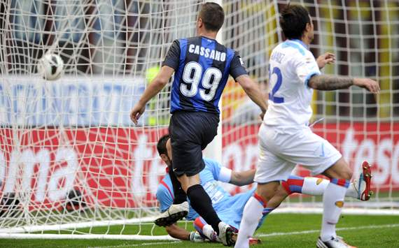 Antonio Cassano - Inter-Catania - Serie A