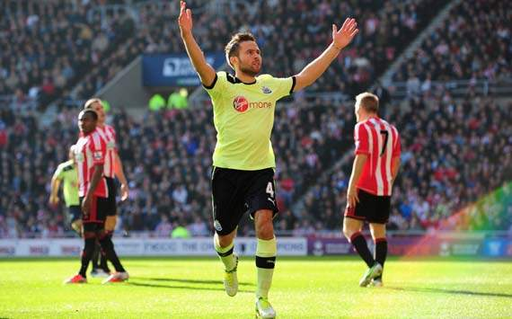 EPL; Yohan Cabaye; Sunderland Vs Newcastle United