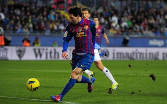 Leo Messi, Málaga-Barcelona