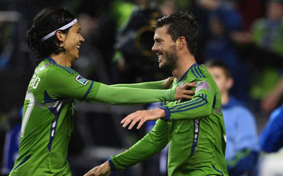 Fredy Montero, Brad Evans, Seattle Sounders FC, MLS