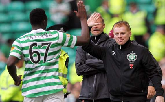 Celtic FC manager Neil Lennon: Sir Alex Ferguson was not scouting Wanyama