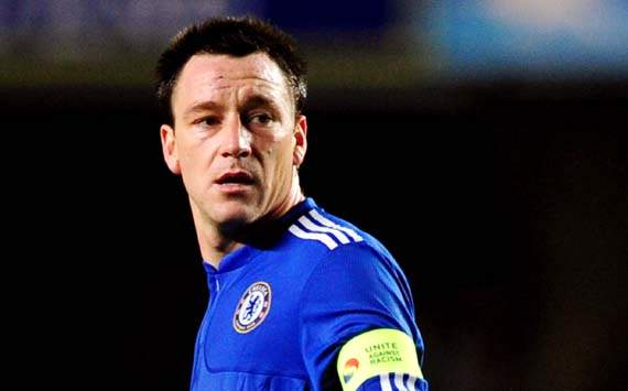 Chelsea captain Terry asked to wear anti-racism armband by Uefa
