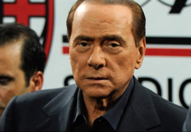 Berlusconi realistic about chances against Barcelona
