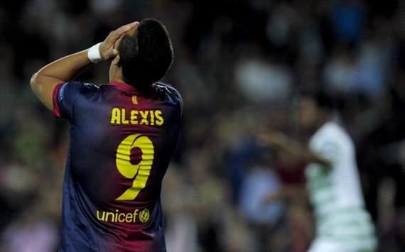 Alexis Sánchez - FC Barcelona v Celtic Glasgow - UCL