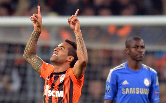 UEFA Champions League:  Alex Teixeira,  FC Shakhtar Donetsk v Chelsea FC
