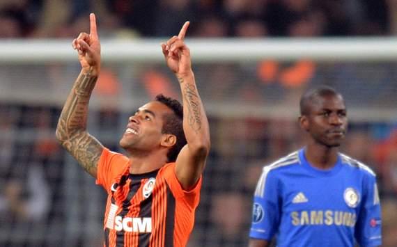 UEFA Champions League:  Alex Teixeira,  FC Shakhtar Donetsk v Chelsea FC
