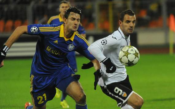 Yegor Filipenko, Roberto Soldado, BATE, Valencia