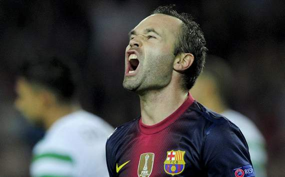 Iniesta: It would have been unjust had Barcelona not beaten Celtic