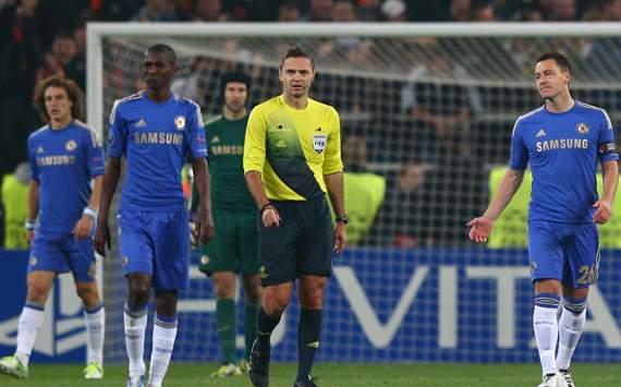 UEFA Champions League: John Terry,  FC Shakhtar Donetsk v Chelsea FC