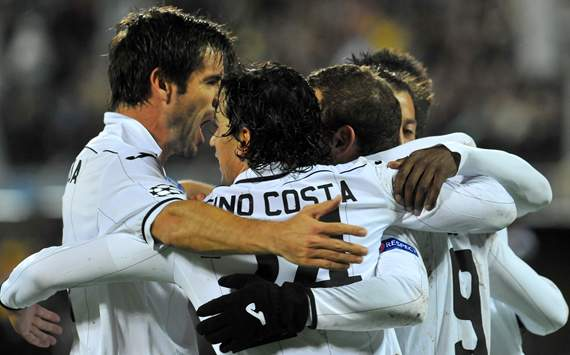 David Albelda, Tino Costa, Roberto Soldado, BATE, Valencia