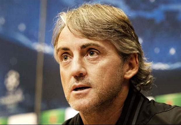 Manchester City are 'not ready' to win the Champions League, admits Mancini