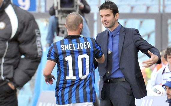 Stramaccioni hopes Sneijder dispute gets resolved quickly