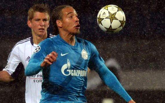 Axel Witsel, Zenit vs Anderlecht