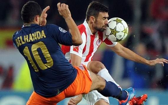 Champions League : Younes Belhanda vs Giannis Maniatis (Montpellier vs Olympiakos)