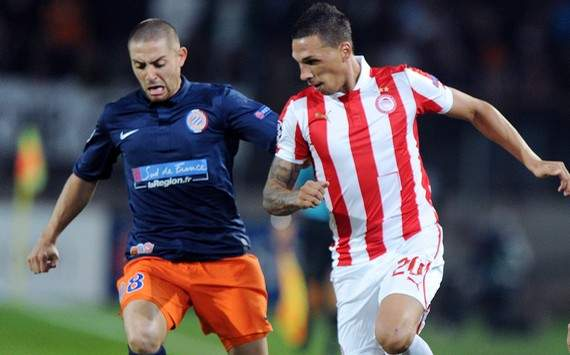 Champions League : Anthony Mounier vs Jose Holebas (Montpellier vs Olympiakos)