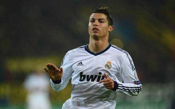 Cristiano Ronaldo calmate