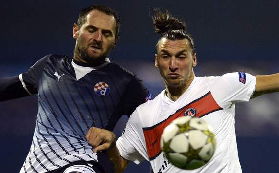 Zlatan Ibrahimovic Paris Saint-Germain