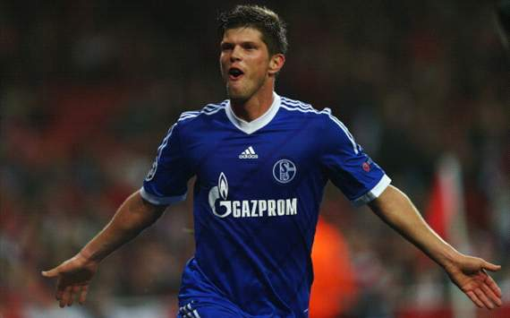 Klaas-Jan Huntelaar goal against Arsenal FC