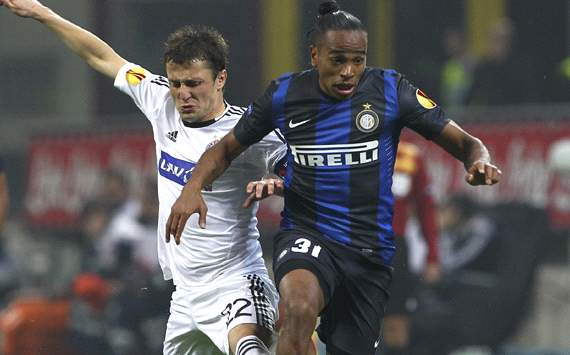 Alvaro Pereira - Inter-Partizan - Europa League