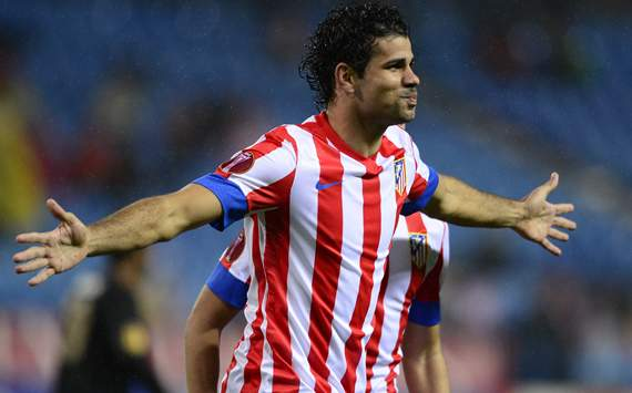 Atltico golea al  Getafe, Costa se viste de Falcao para encarrilar el pase