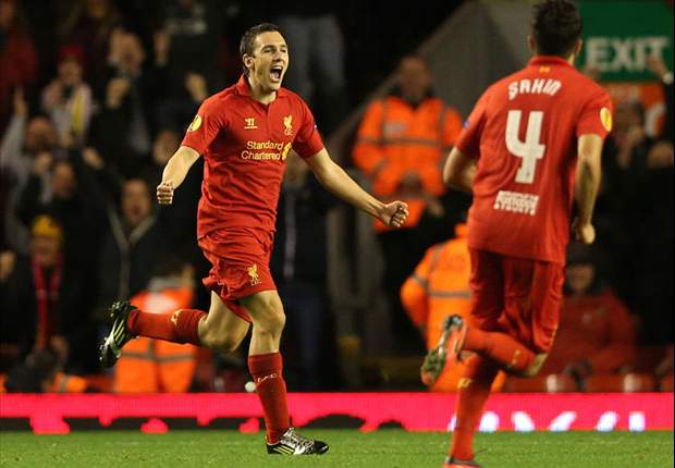 TEAM NEWS: Henderson and Downing start for Liverpool against Swansea