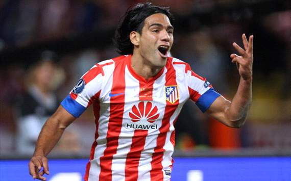 Falcao not thinking about Chelsea move