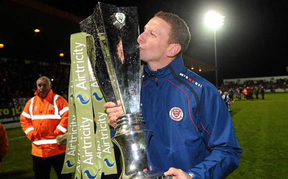 Ian Baraclough keen to get 'the right players' for Sligo Rovers