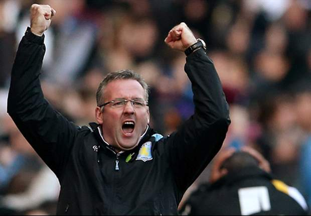 Aston Villa boss Lambert handed one-match ban by FA for 'improper conduct'