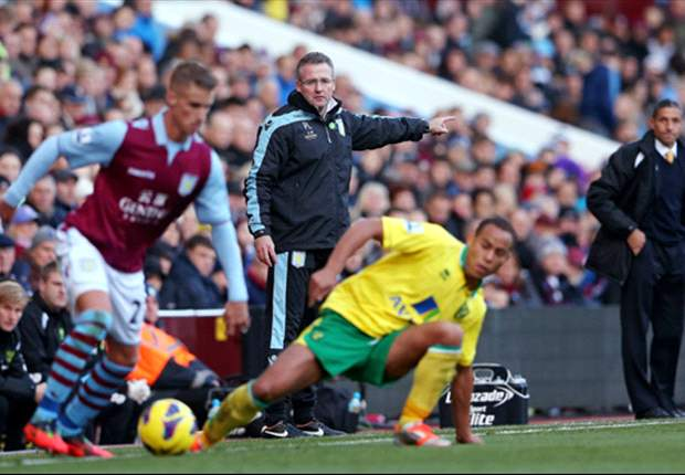 Aston Villa chief hails progress under Lambert