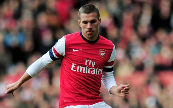 TEAM NEWS: Podolski returns to Arsenal starting XI against West Ham