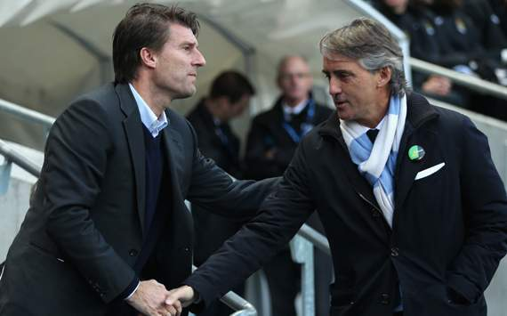 Manchester City eyeing Laudrup as potential Mancini successor