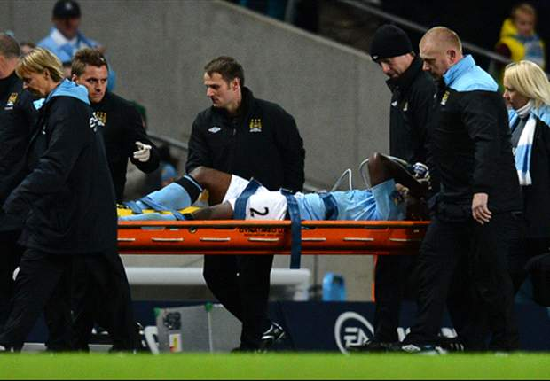 Manchester City defender Micah Richards ruled out for four months