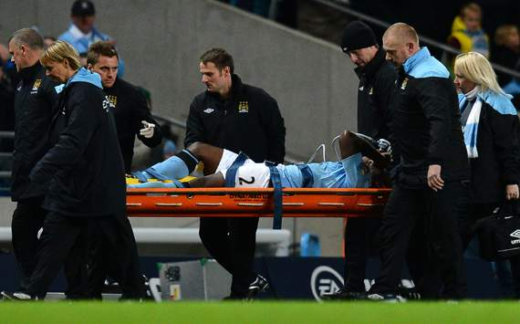Micah Richards to discover extent of knee injury