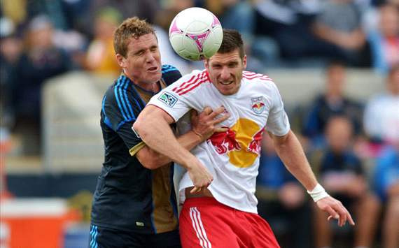 Chris Albright, Kenny Cooper: Philadelphia Union vs. New York Red Bulls