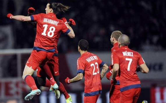 Ligue 1: Zlatan Ibrahimovic (AS Nancy vs Paris SG)