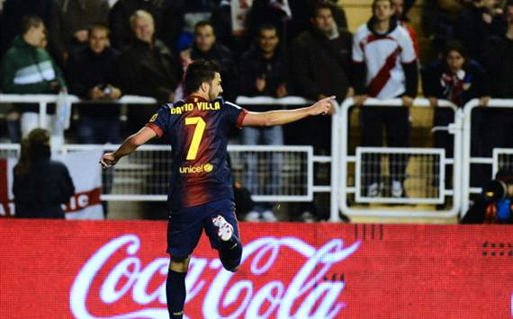 Barcelona's Villa: I am in good shape
