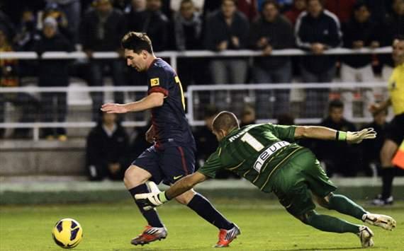 Lionel Messi, Rayo Vallecano, Barcelona
