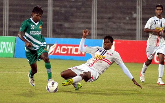 Salgaocar jump to sixth on the table