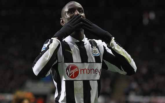 EPL; Demba Ba; Newcastle United Vs West Bromwich Albion