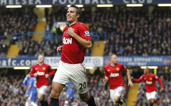 EPL: Robin van Persie , Chelsea v Manchester United