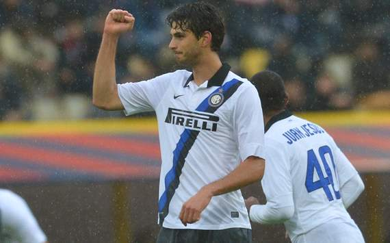 Ranocchia & Samuel resume Inter training